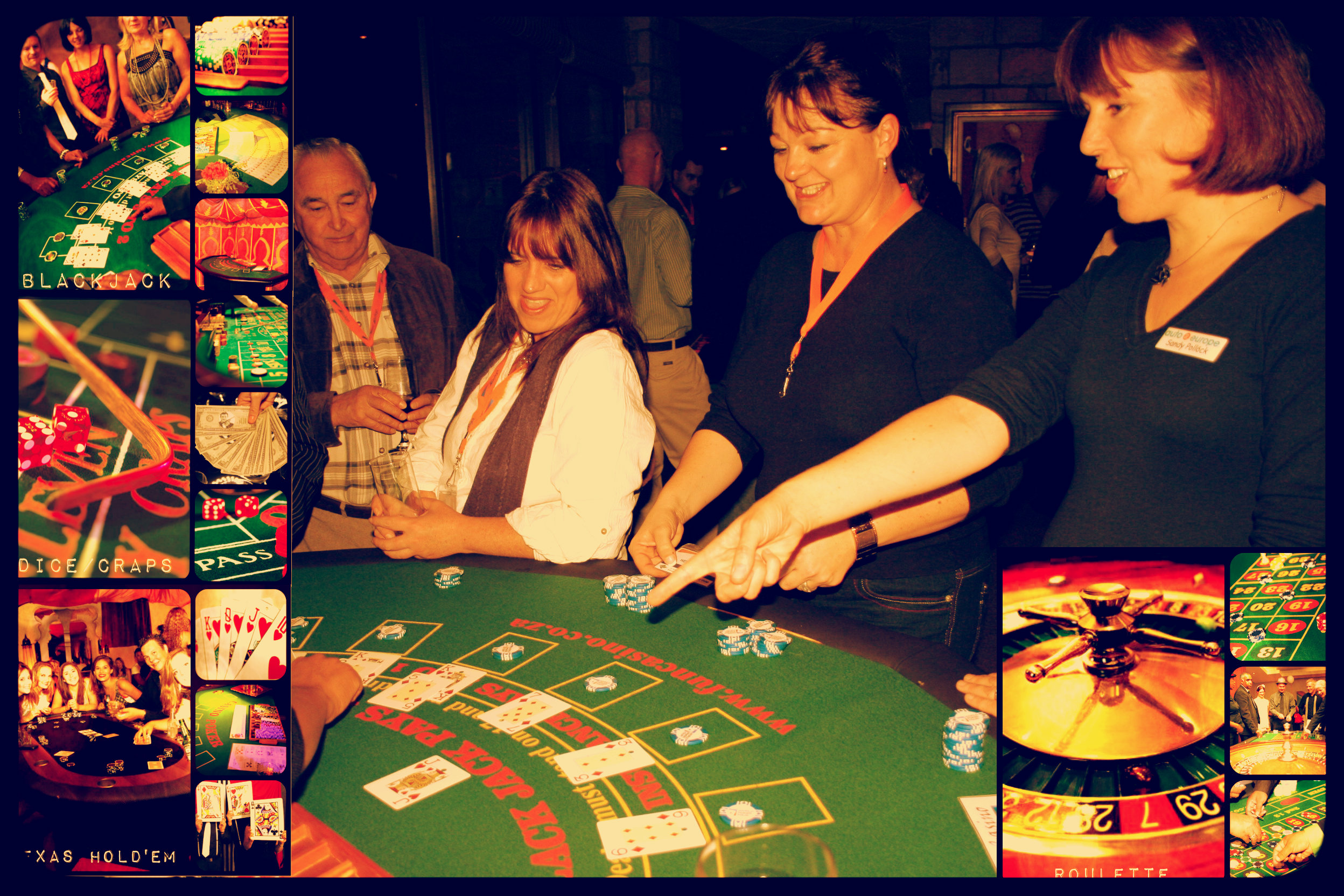 A Casino themed year end function